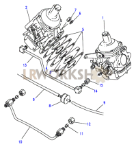 Carburetter-Stromberg-Detoxed Part Diagram