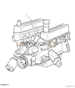 Engine Stripped Part Diagram
