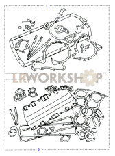 Gasket Kits-Engine Part Diagram