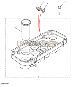 Ram Pipes Housing Part Diagram