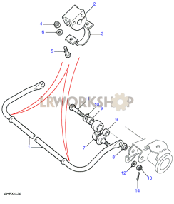Anti Roll Bar Part Diagram