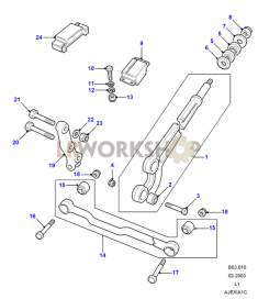 1998 land rover discovery engine diagram front suspension diagrams find land rover parts at lr workshop  front suspension diagrams find land
