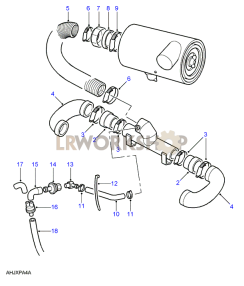 Air Inlets - SU Carb Part Diagram