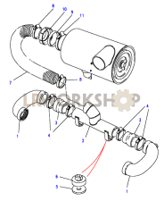 Air Inlet - Stromberg Carb Part Diagram