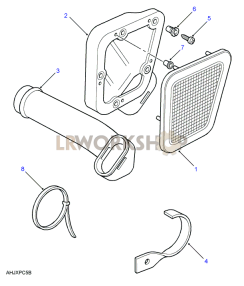 Air Intake Part Diagram