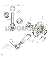 Crownwheel And Pinion - Rover Type Part Diagram
