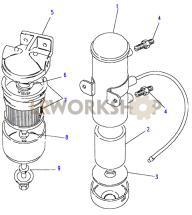 External Fuel Pump Part Diagram