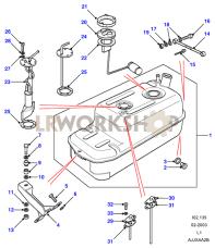 Fuel Tank - Extra Part Diagram