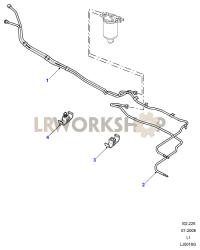 Fuel Pipes Part Diagram