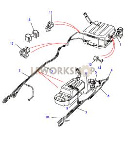Fuel System Diagrams  Find    Land       Rover    parts at LR Workshop