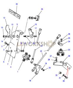 Fuel Tank Change Over Controls Part Diagram