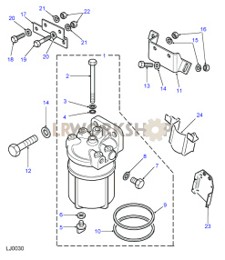Fuel Sedimentor Part Diagram