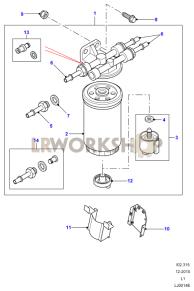 Fuel Filter Part Diagram