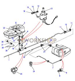 Twin Tanks Part Diagram