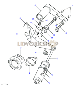 Clutch Release Part Diagram