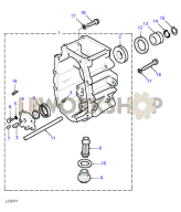 Extension case & Oil Pump Part Diagram
