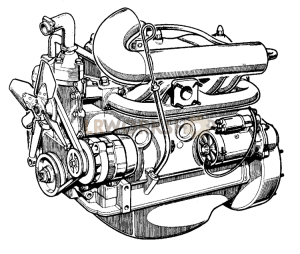 Complete Engine Part Diagram
