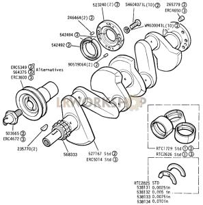Crankshaft Part Diagram