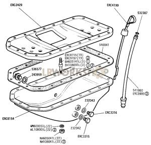 Crankcase Sump Part Diagram