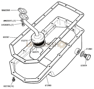Sump and Filter Part Diagram