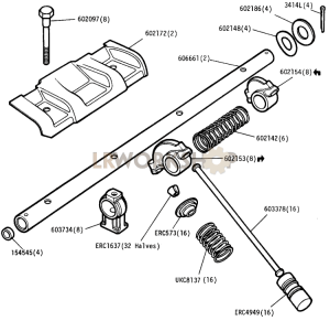 Valve Gear Part Diagram