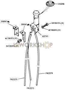 Vacuum Control Valve Part Diagram