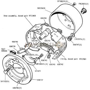 Transmission Brake Part Diagram