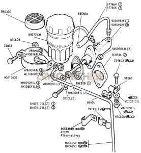 Master Cylinder Part Diagram