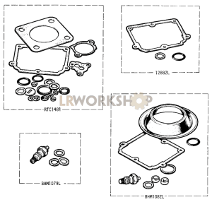 DETOXED ENGINE - Carburetter Gasket Kits Part Diagram