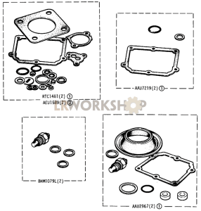 Carburettor Gasket Kits Part Diagram