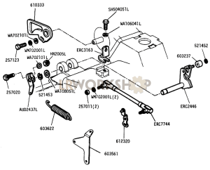 Throttle Linkage Part Diagram