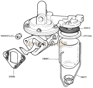 Fuel Pump Part Diagram