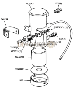 Electric Fuel Pump Part Diagram