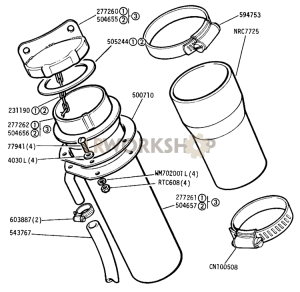 Fuel Filler Part Diagram