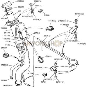 Fuel Filler Part Diagram