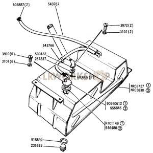 petrol fuel tank diagram wiring diagram F150 Fuel Tank Diagram fuel tank u0026 pipes diagrams find land rover parts at lr workshopfuel tank part diagram