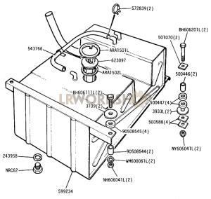 Fuel Tank Part Diagram