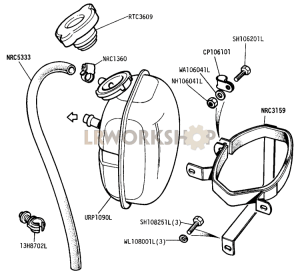 Expansion Tank Part Diagram