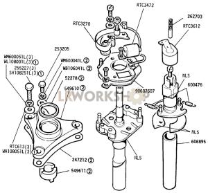 distributor components part diagram
