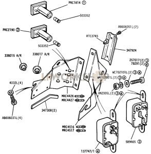 Auxiliary Instrument Panel Part Diagram