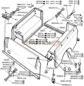 Rear Body Part Diagram