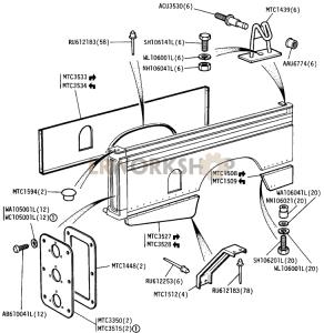 Bodysides Part Diagram