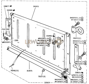Tailboard Assembly Part Diagram