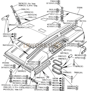 Roof Part Diagram