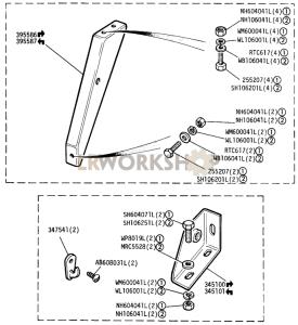 Raised Shoulder Seat Harness Anchorages Part Diagram