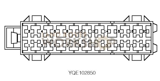 c0580 connector - fuse box