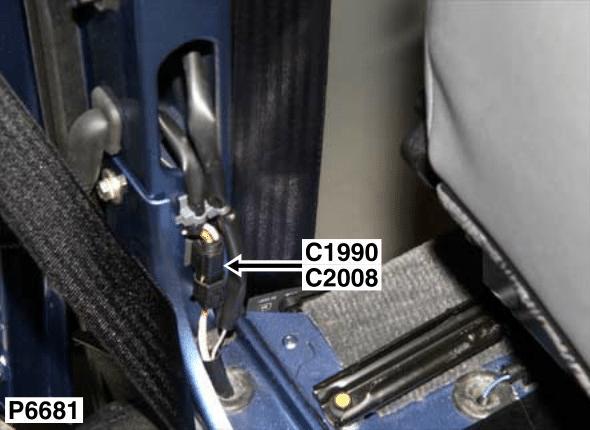 c2008 connector door harness to main harness defender. Black Bedroom Furniture Sets. Home Design Ideas