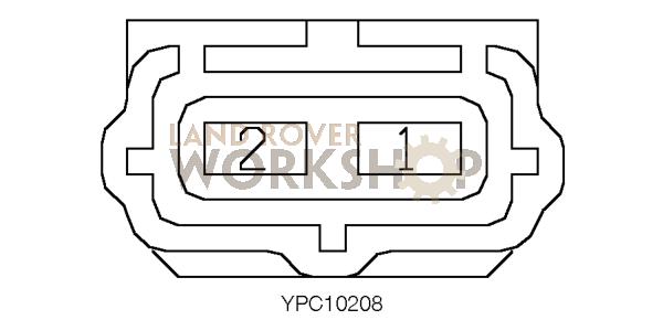 c2121 - lamp - reverse  fog - lh - 130