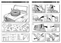 Defender Spare Wheel Bonnet Mounting Kit Fitting Kit Instructions - page 2