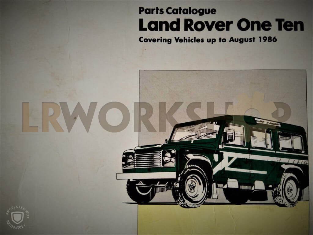 1984 Land Rover Defender Fuse Box - All Diagram Schematics
